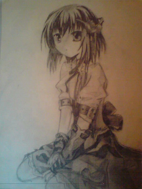 anime girl by sabby071