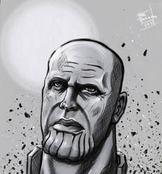 Fanart Thanos Blacktrek by freesanama