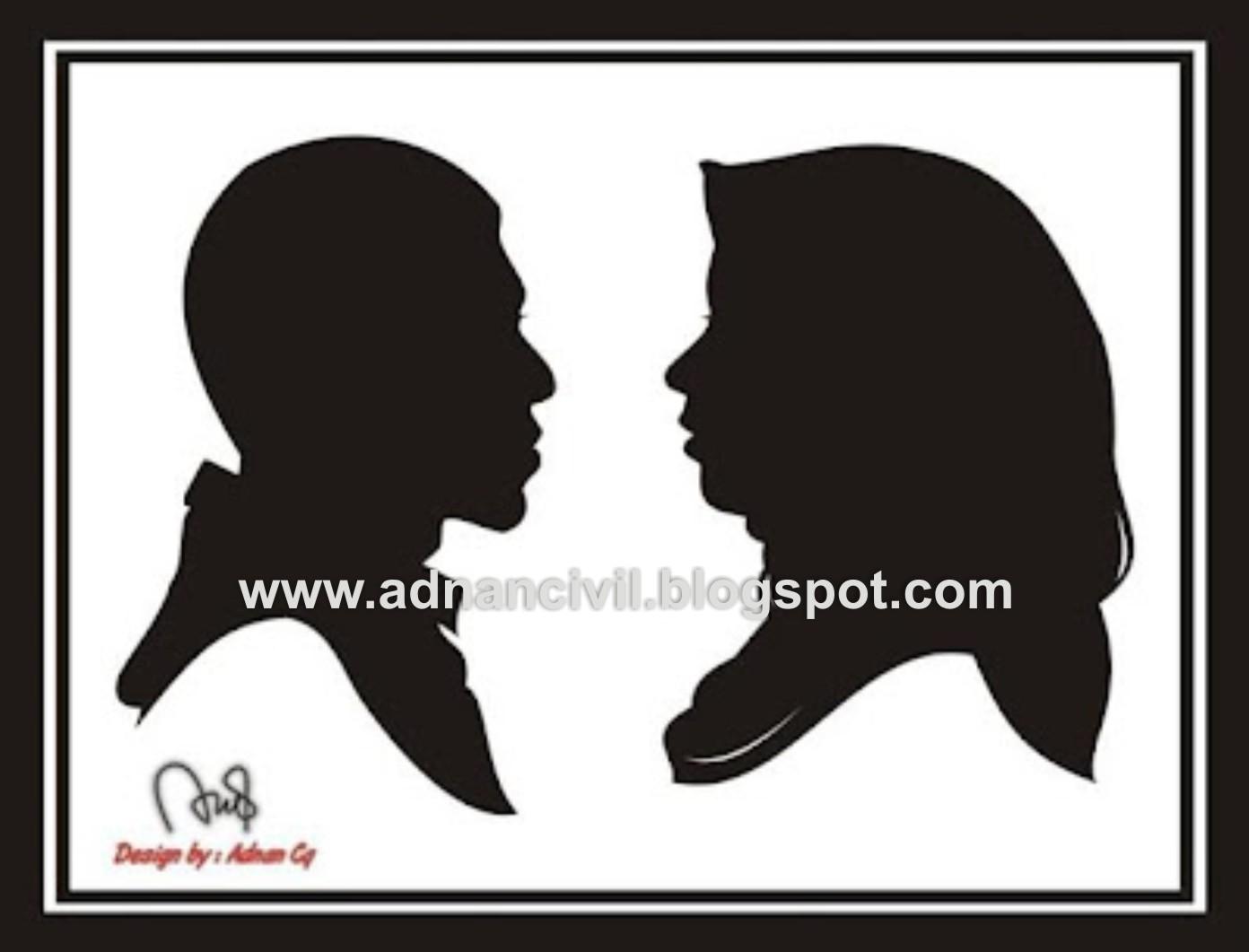 Gambar Siluet Pasangan 01 by Adnancq