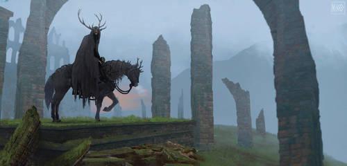 Hornedwraith. by NikoKripton