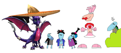 Me And My Deviantart Friends by boogeyboy1
