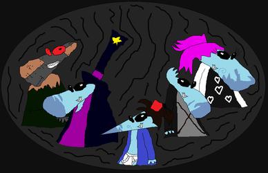 Dark Evil Teensies by boogeyboy1