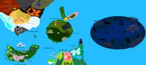 Rayman Chronicles World Map
