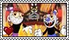 Cuphead Bad Ending fan stamp by boogeyboy1