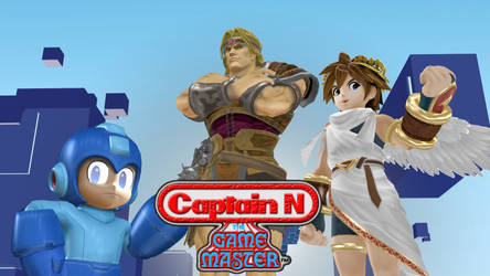 MMD: Captain N trio by boogeyboy1