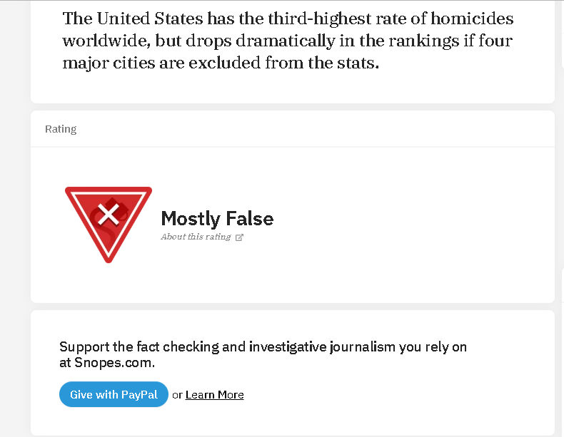When even snopes says your lying by IreneBelserion69