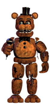 Withered freddy full body