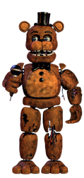 Withered freddy full body by FnaFcontinued
