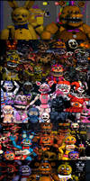 The story of horror by FnaFcontinued