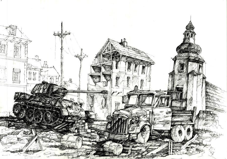 City of ruins by gaciu...