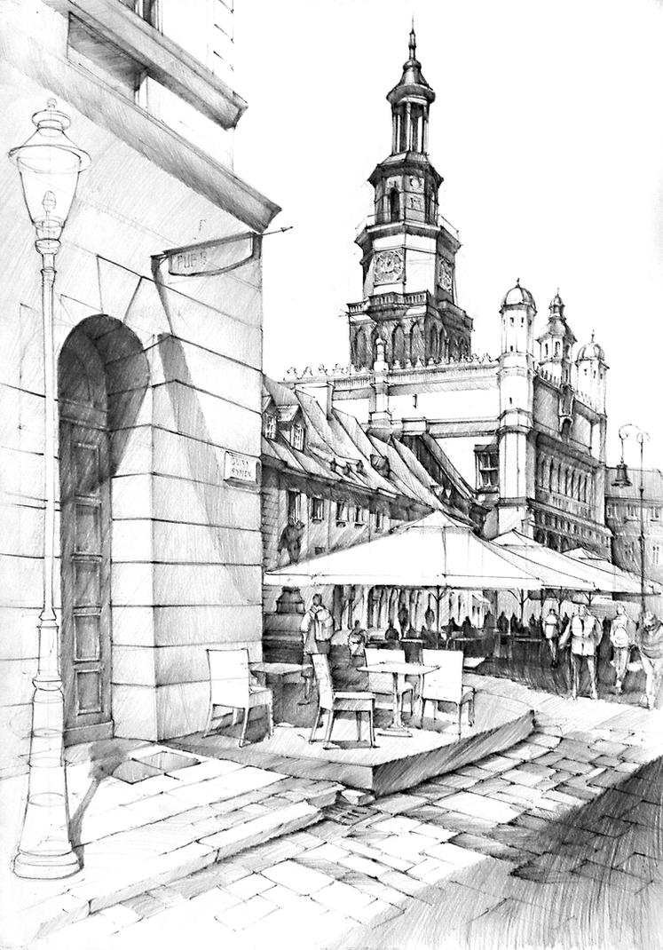 Ratusz w Poznaniu - Poznan Cityhall by gaciu000
