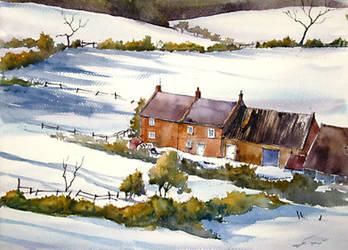 Winter Landscape by gaciu000