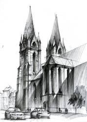 Gothic cathedral II / Katedra gotycka II by gaciu000