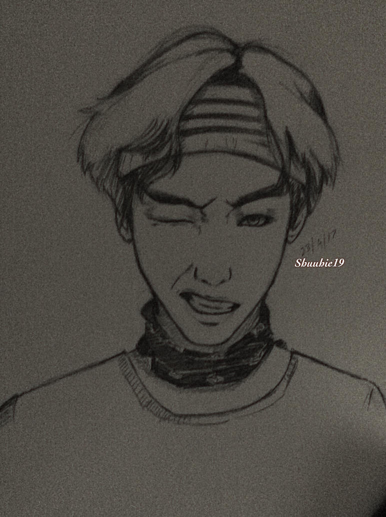 Taehyung sketch  by shuuhie19
