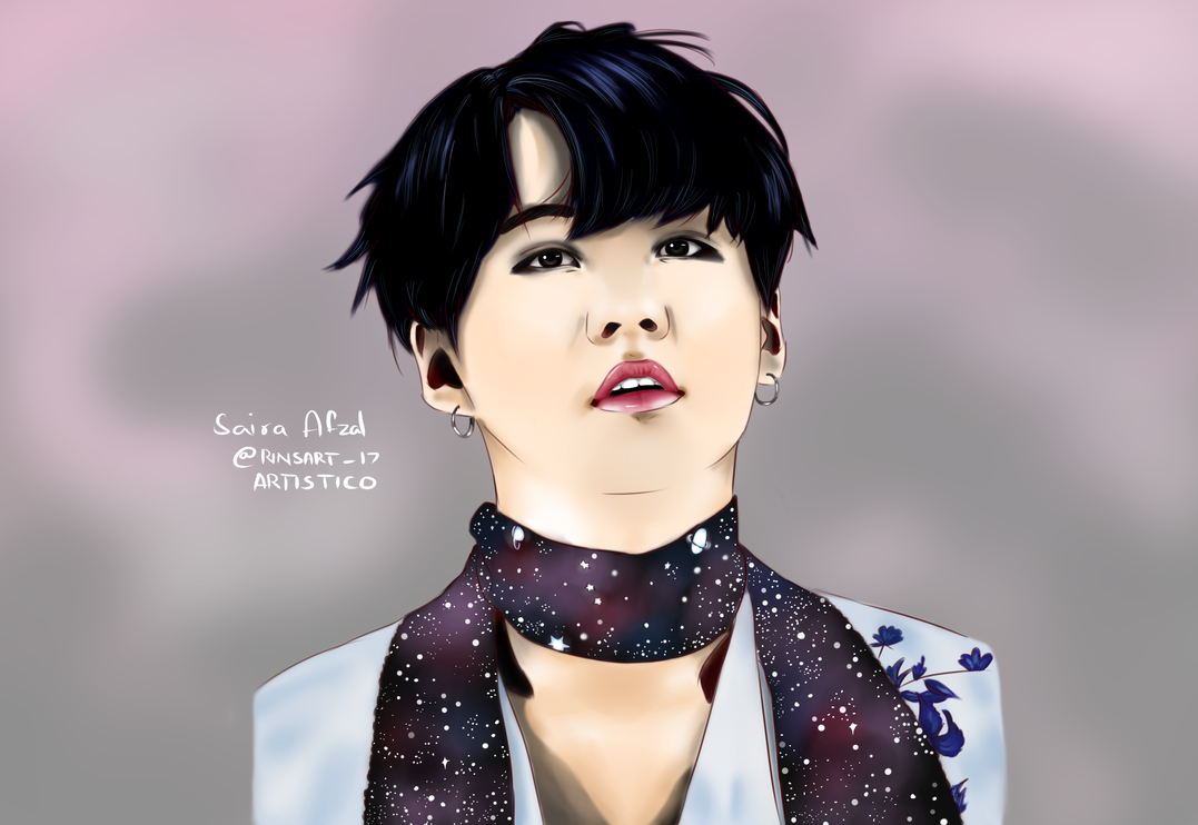 suga from bts by shuuhie19