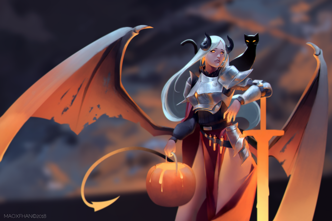 Halloween ! Liquid by MAOxFhan