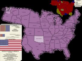 World Born at Tilsit: America by Spiritswriter123