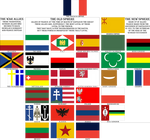 Flags of the Franco-Sphere