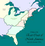 Colonies of the East Coast of North America