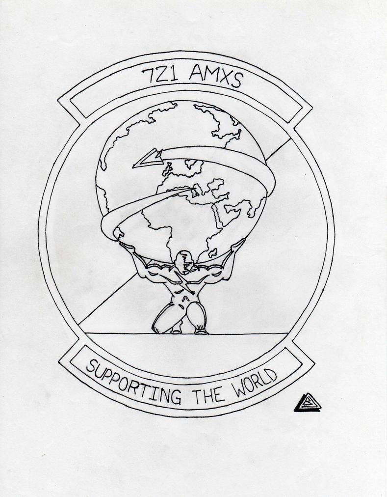 Atlas carrying the World Patch by JETMECH1992 on deviantART