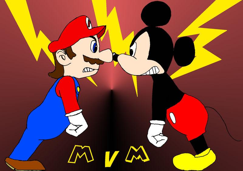 Mario vs Mickey