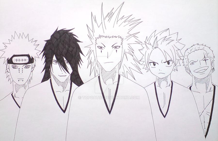 Anime Characters Born November 5 : Manga characters by topcat on deviantart
