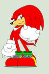 Knuckles the Echidna by roxan1930