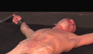 Ripped slave in the rack 4