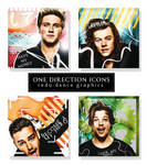 ONE DIRECTION ICONS