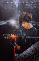 REMEMBER ME - WATTPAD COVER by AdmireMyStyle