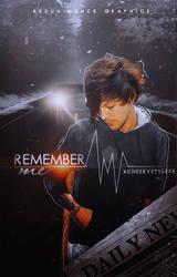 REMEMBER ME - WATTPAD COVER