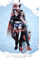 THE NERD AND THE POPULAR - WATTPAD COVER by AdmireMyStyle
