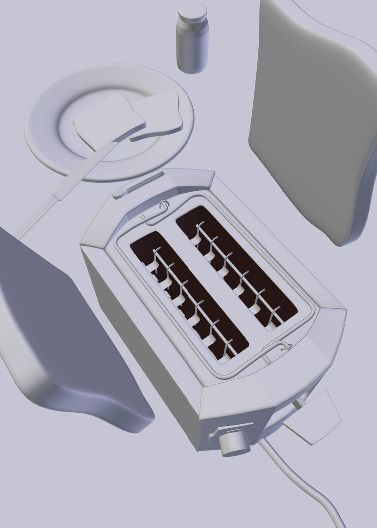 Toaster 3D screenshot by aXel-Redfield