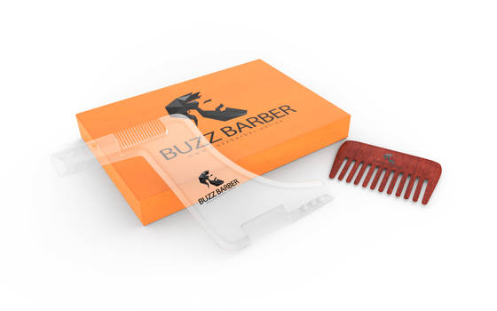 Beard product visualization
