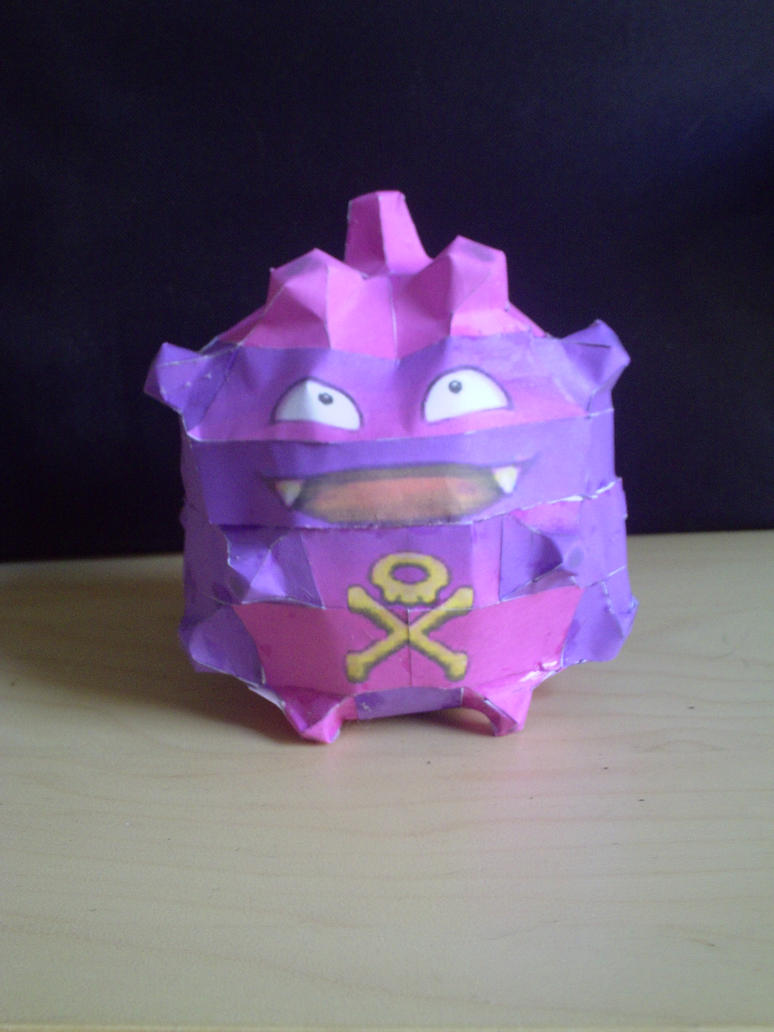 Koffing by SpottyBulboid