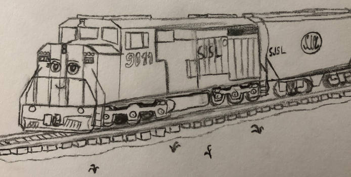 Ruby the SD40-2F