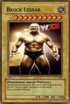 Brock Lesnar Card