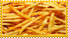 French Fries Stamp by Weapons-Expert-Cool
