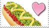 Hot Dog Love Stamp by Weapons-Expert-Cool