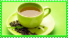 Green Tea Stamp by Weapons-Expert-Cool