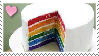 Rainbow Cake Stamp by Weapons-Expert-Cool