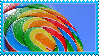 Rainbow Lollipop Stamp by Weapons-Expert-Cool