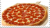 Large Pepperoni Pizza Stamp by Weapons-Expert-Cool
