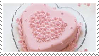 Heart Pink Cake Stamp by Weapons-Expert-Cool