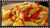French Fries With Ketchup Stamp by Weapons-Expert-Cool