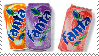 Fanta Cans Stamp by Weapons-Expert-Cool