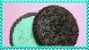 Green Oreo Stamp by Weapons-Expert-Cool