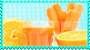 Orange And Carrot Juice Stamp by Weapons-Expert-Cool