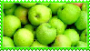 Green Apples Stamp by Weapons-Expert-Cool