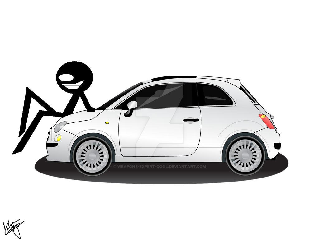 Kiro With A Fiat 500 II